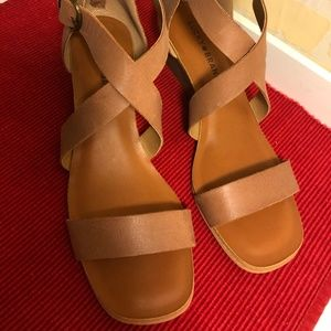 NEW! LUCKY BRAND LEATHER SANDALS